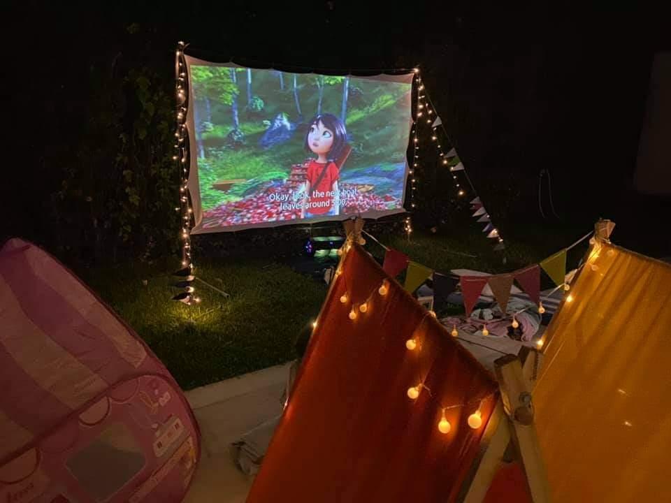 Big Screen and Teepee rentals